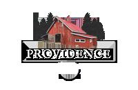 Providence Farm Wedding and Event Venue Indiana Logo